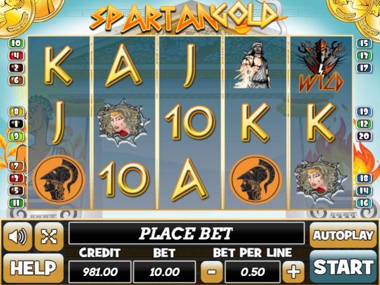 Spartan Gold Giochi Slot Machine Online Gratis