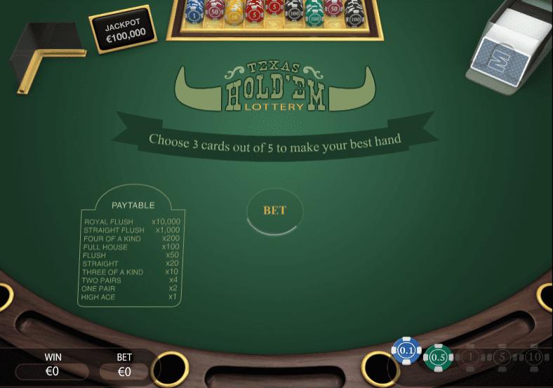 Come si gioca a poker holdem texas