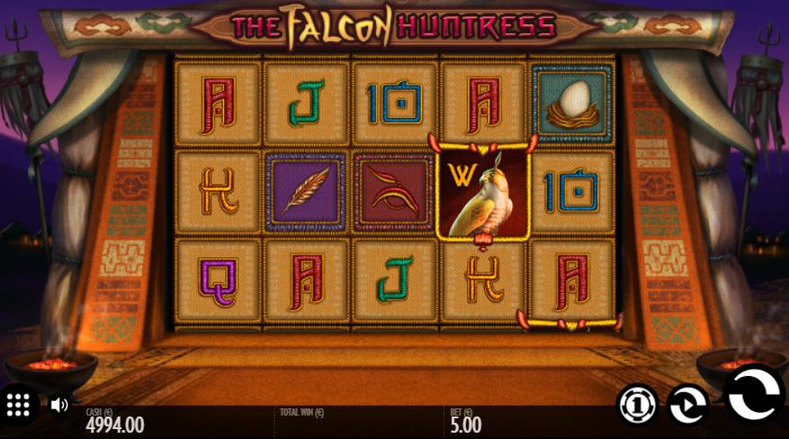 The Falcon Huntress Slot Machine Online Gratis