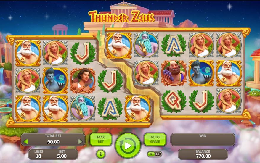 Thunder Zeus Slot Machine