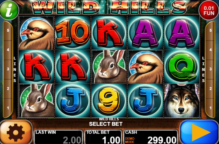 Wild Hills Giochi Slot Machine Online Gratis