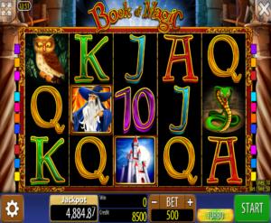 Slot MachineBook of Magic WazdanGratis Online