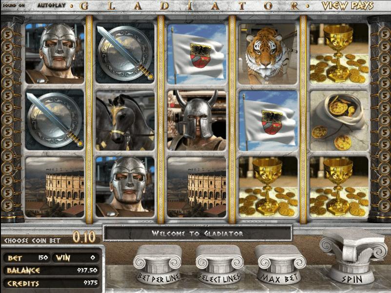 Slot Machine Gratis Gladiator
