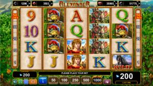 The Story of Alexander Slot Machine Online Gratis