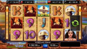 Slot MachineThe White WolfGratis Online