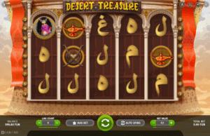 Giochi Slot Desert Treasure BGaming Online Gratis