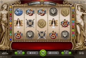 Slot Machine Platinum Lightning Gratis Online