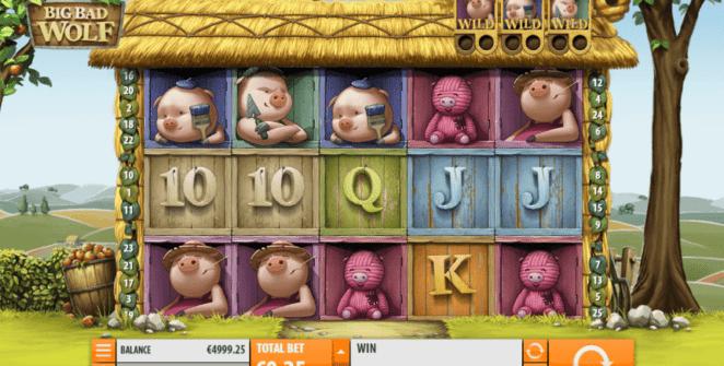 Slot Machine Big Bad Wolf QuickSpin Gratis Online