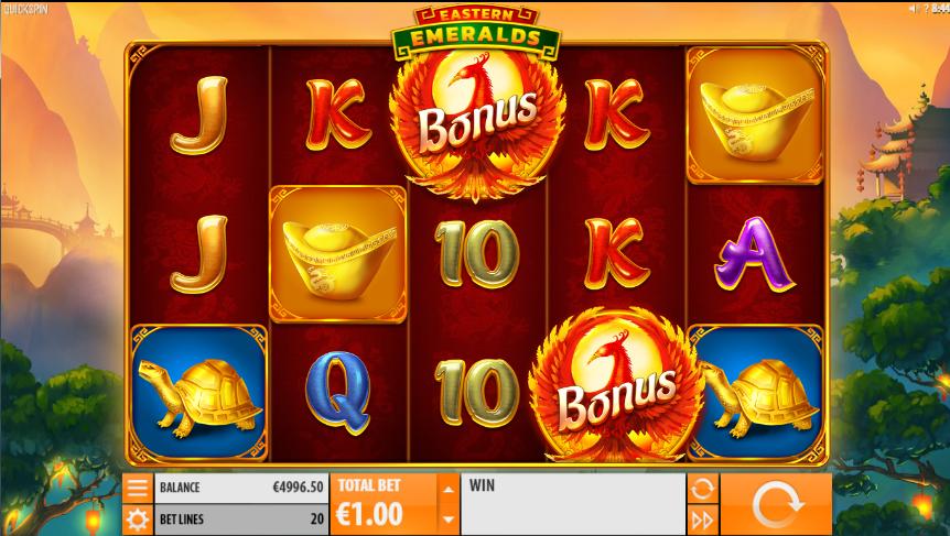 Slot Machine Eastern Emeralds Gratis Online