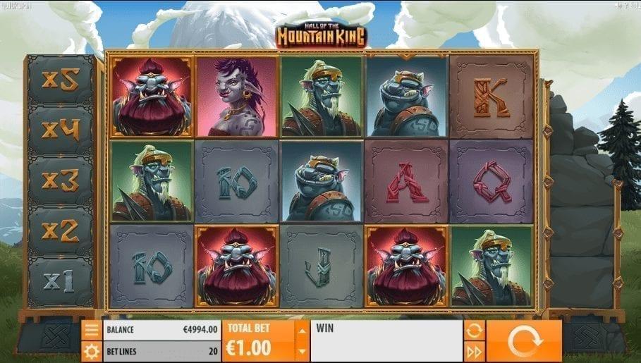 Hall of the Mountain King Giochi Slot Machine Online Gratis
