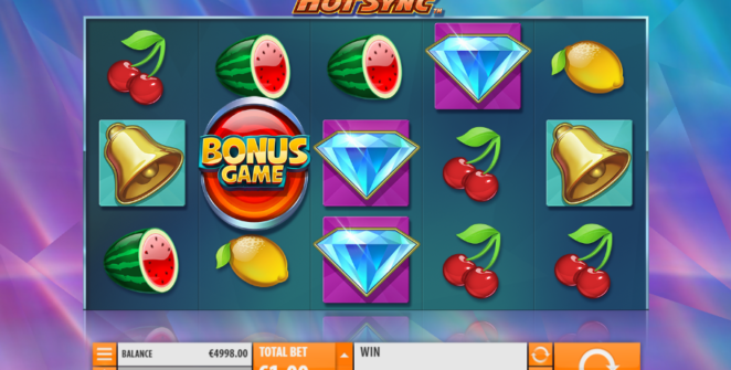 Slot Machine Hot Sync Gratis Online