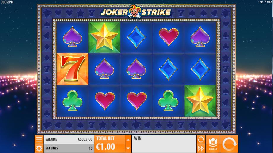 Giochi Slot Joker Strike Online Gratis