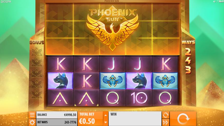 Phoenix Sun Slot Machine Online Gratis