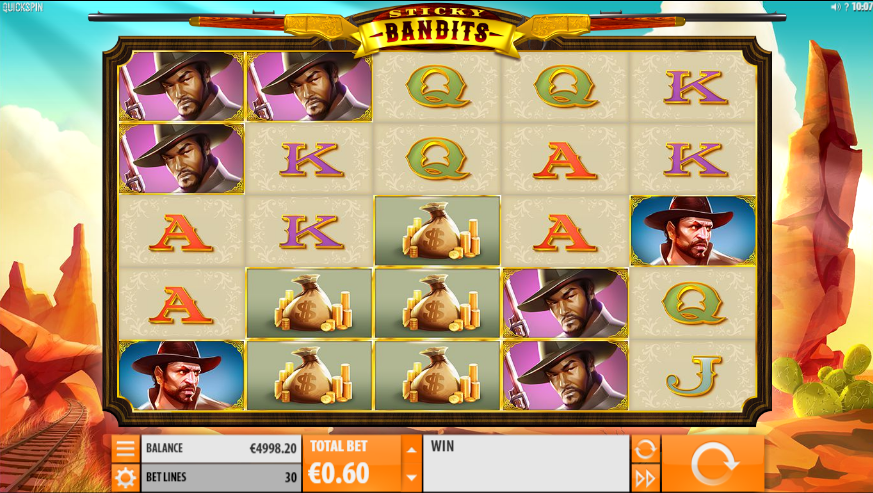 Sticky Bandits Slot Machine Online Gratis
