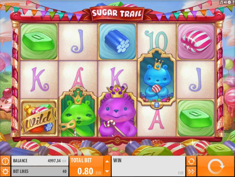 Slot Machine Sugar Trail Gratis Online