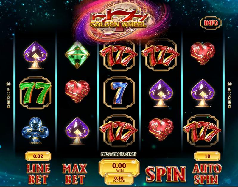 Spiele 777 Golden Wheel - Video Slots Online