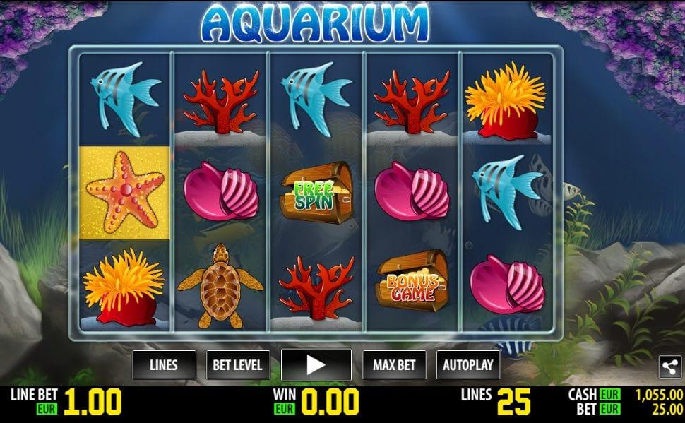 World Match Aquarium HD Slot Machine è composta da 5 ruote e 25 linee di vincita, che pagano, come di consueto, da sinistra verso destra.Il tema centrale del gioco è ambientato in un acquario, dove pesciolini colorati e altre creature vivono felici.5/5.Divriği