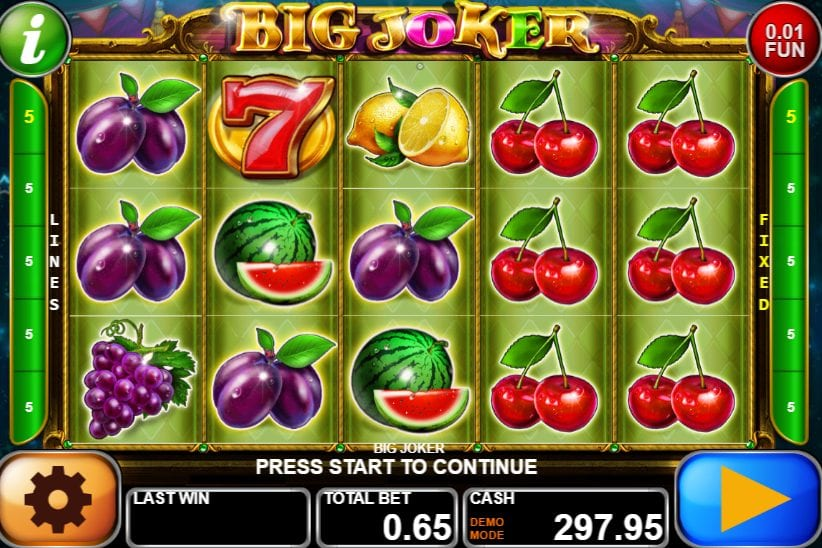 Big Joker Slot Machine