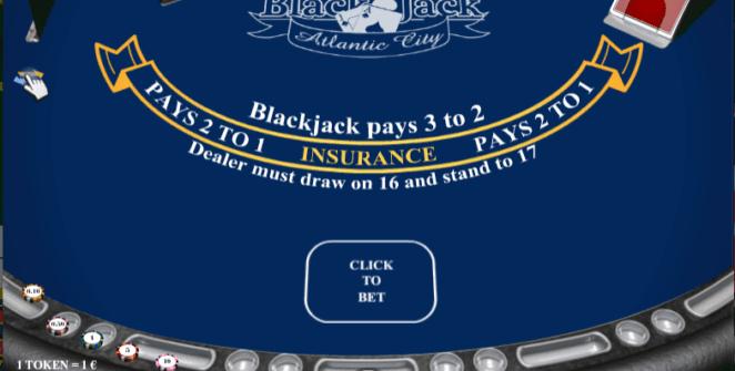 Slot MachineBlackJack Atlantic City iSoftGratis Online