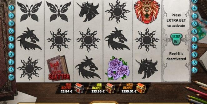 Book of Tattoo Slot Machine Online Gratis