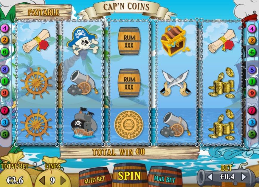 Cap N CoinsSlot Machine Online Gratis