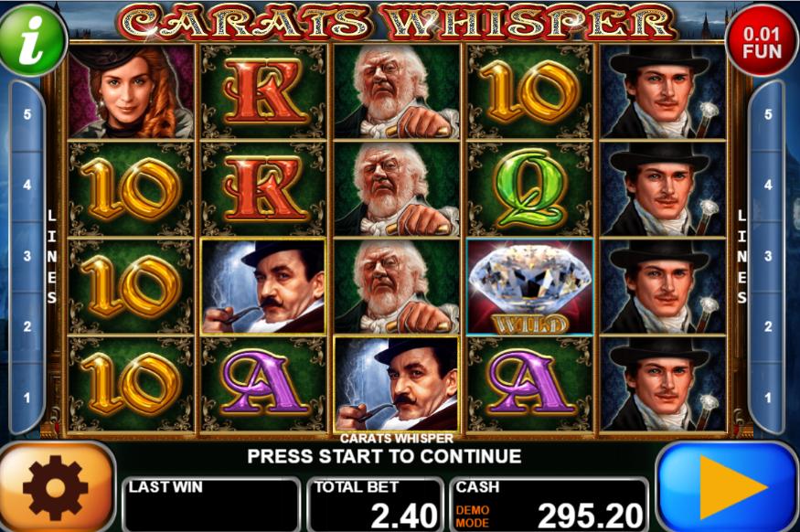 Spiele Carats Whisper - Video Slots Online