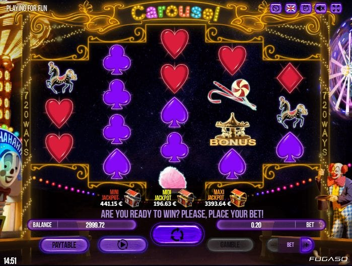 Carousel Giochi Slot Machine Online Gratis
