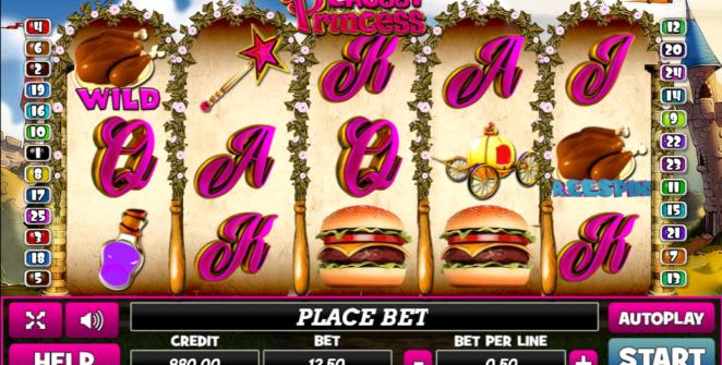 Slot Machine Chubby Princess Gratis Online