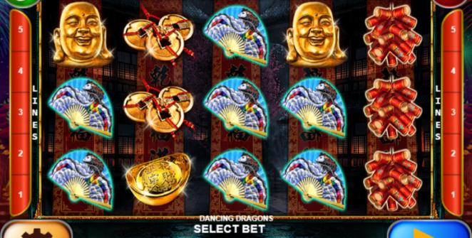 Dancing Dragons Slot Machine Online Gratis