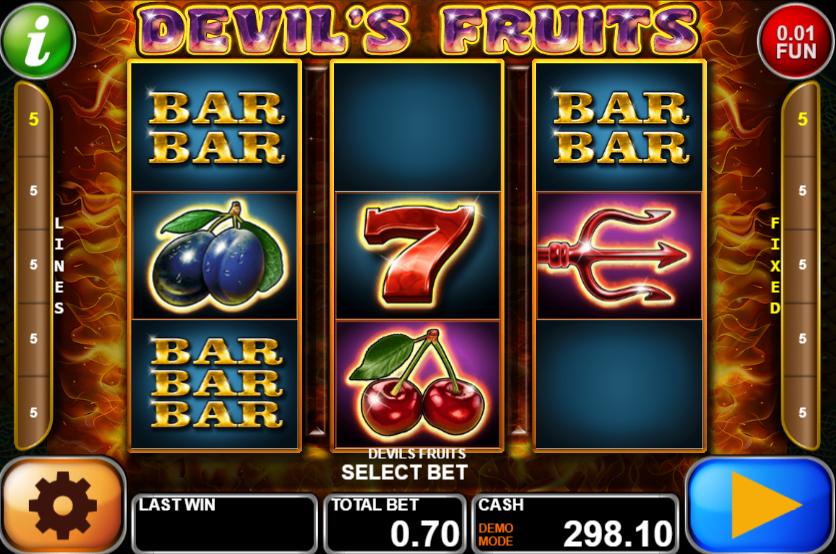 Devils Fruits Slot Machine Online Gratis