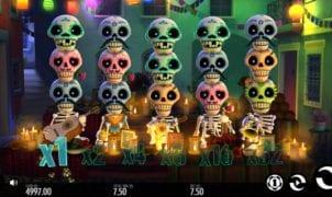 Esqueleto Explosivo Slot Machine Online Gratis