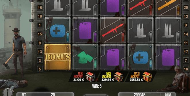 Giochi SlotFear The ZombiesOnline Gratis
