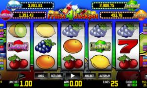 Fruits 4 JackpotSlot Machine Online Gratis