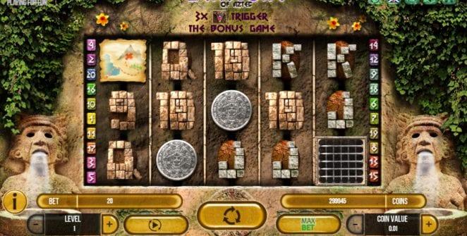 Slot Machine Gemstone of Aztec Gratis Online