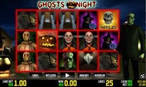 Ghosts NightSlot Machine Online Gratis