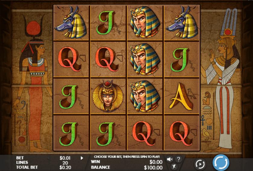 Slot Machine Gods of Giza Gratis Online