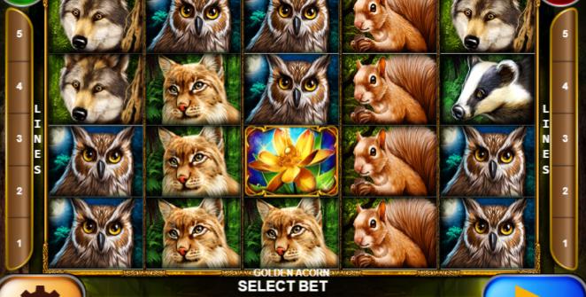 Slot Machine Golden Acorn Gratis Online