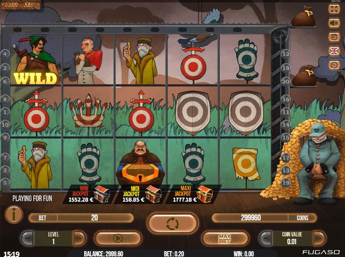 Golden Shot Slot Machine Online Gratis