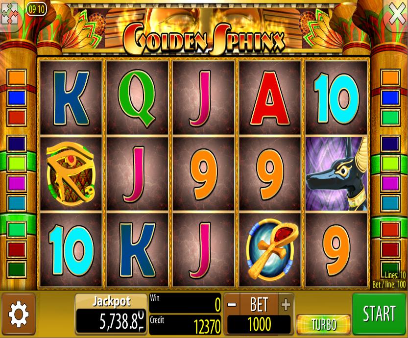Slot Machine Online Gratis Sphinx