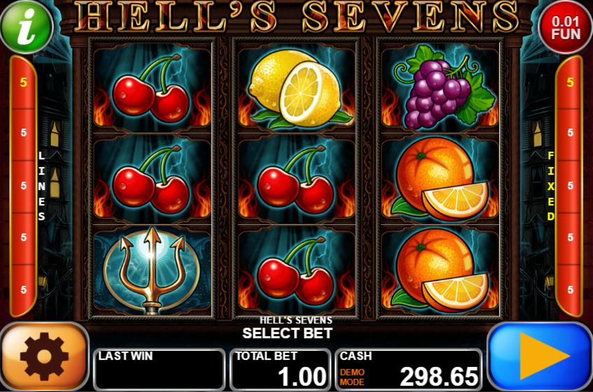 Hells Sevens Giochi Slot Machine Online Gratis