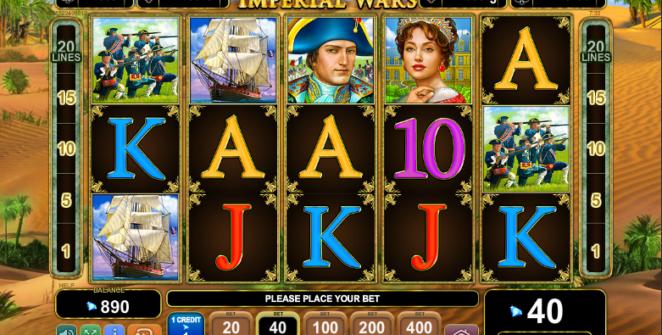 Slot MachineImperial WarsGratis Online