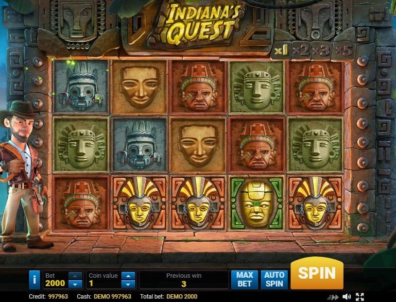 Animal Quest Slot Machine
