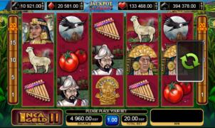 Giochi SlotInca Gold IIOnline Gratis