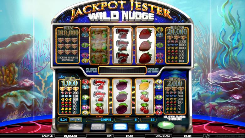 Giochi SlotJackpot Jester Wild NudgeOnline Gratis