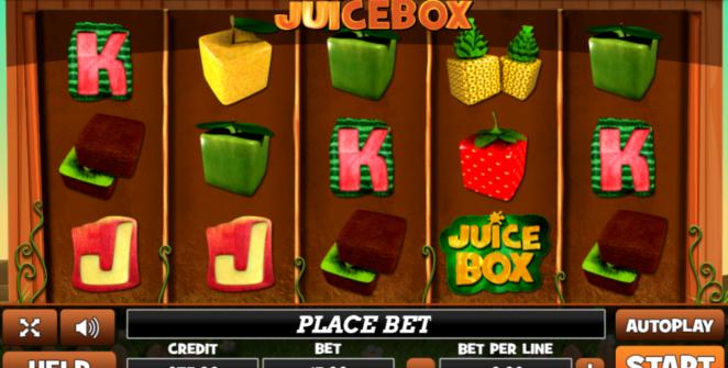 Slot Machine Juice Box Gratis Online