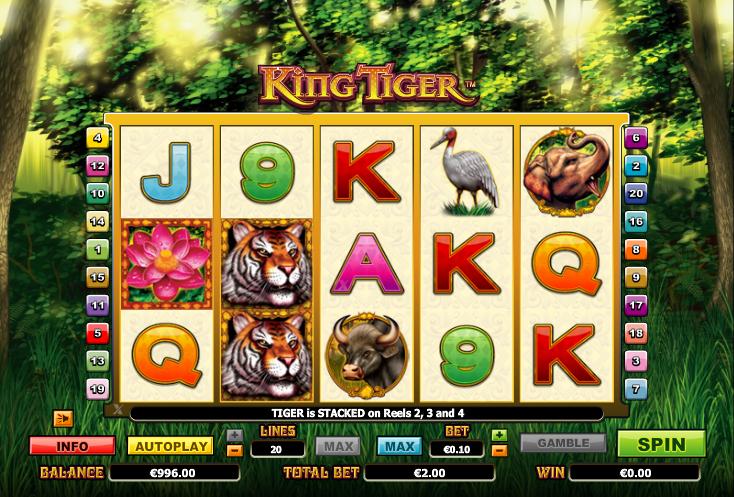 King Tiger Slot Machine