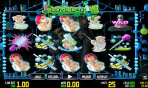 Slot Machine Love Lab Gratis Online