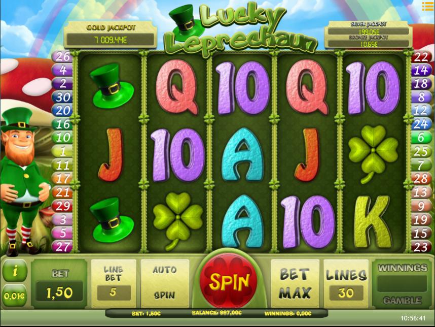 Lucky Leprechaun iSoft