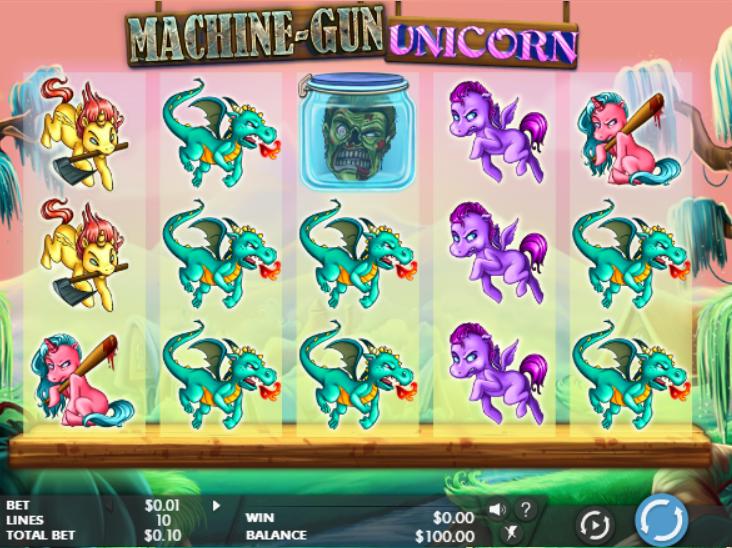 Machine-Gun Unicorn Slot Machine Online Gratis