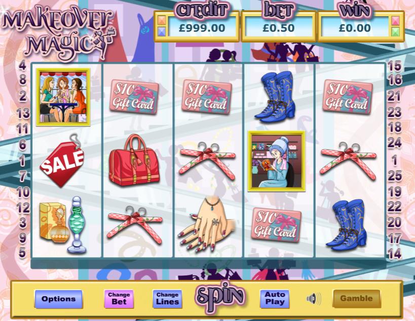 Slot MachineMake Over MagicGratis Online